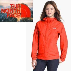 The North Face Orange Hyvent Jacket